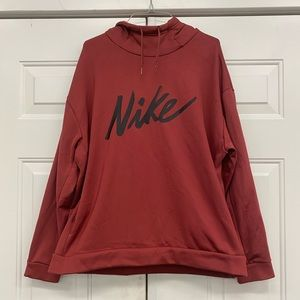 Nike women's hooded sweatshirt size L